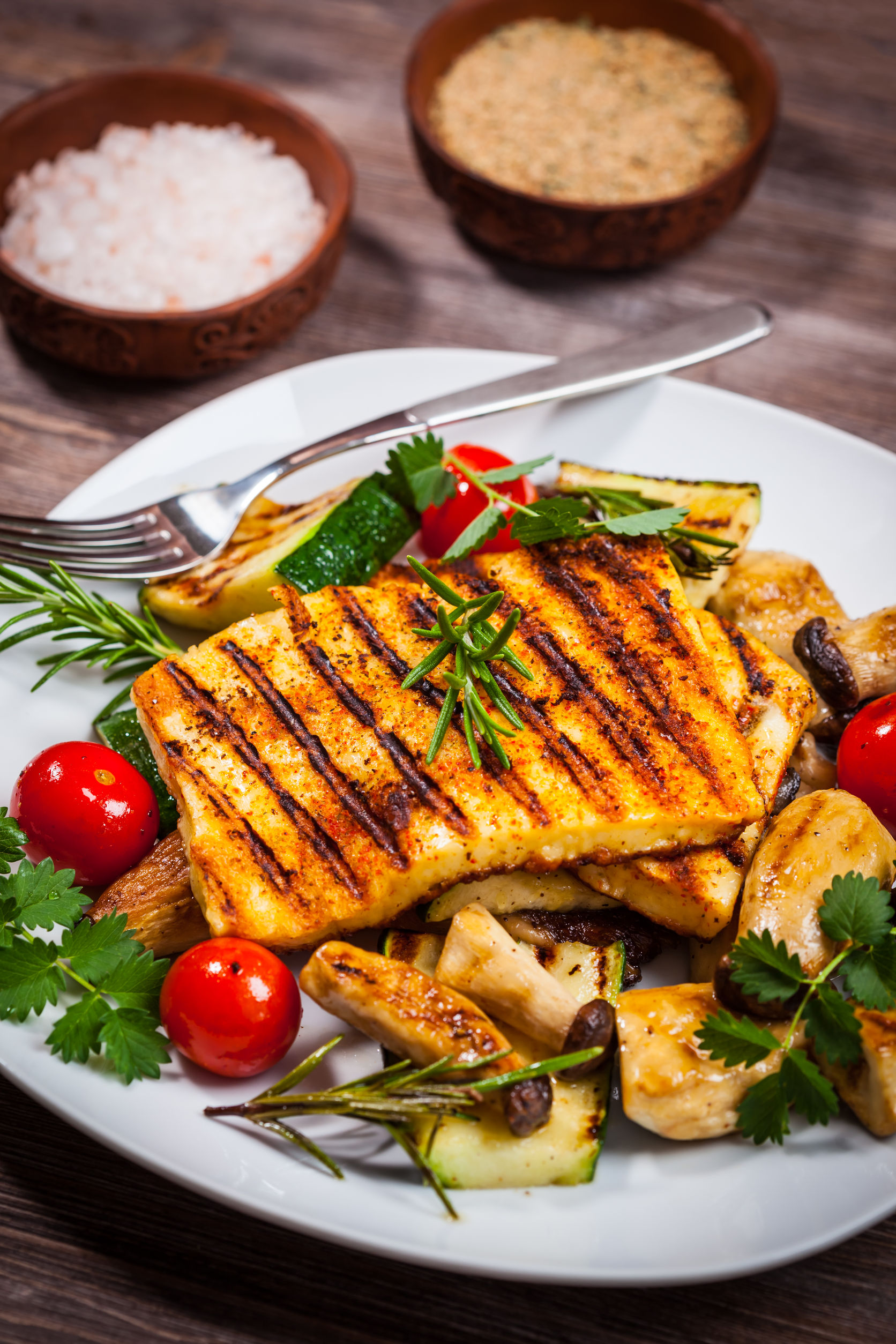 Grilled halloumi is a Cypriot speciality. Photo / 123RF