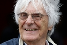 Bernie Ecclestone met his current wife Fabiana in 2009. Photo / AP