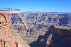 Protruding over the magnificent Grand Canyon, the Skywalk is a glass platform that takes you to new heights. Photo / Creative Commons image by Flickr user Richard Jones