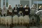 The rams of the title belong to the flocks of brothers Kristinn (Juliusson) and Gudmund (Sigurjonsson) neighbours in an isolated valley in rural Iceland.