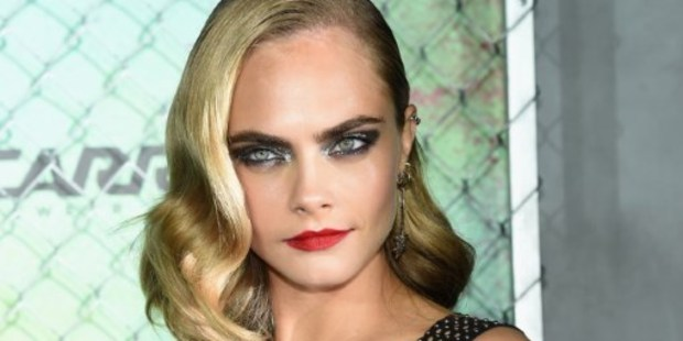'If I don't cry pretty much every day I will hold it in' Cara Delevingne says. Photo / AFP