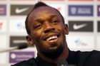 Jamaican athlete Usain Bolt. Photo / AP