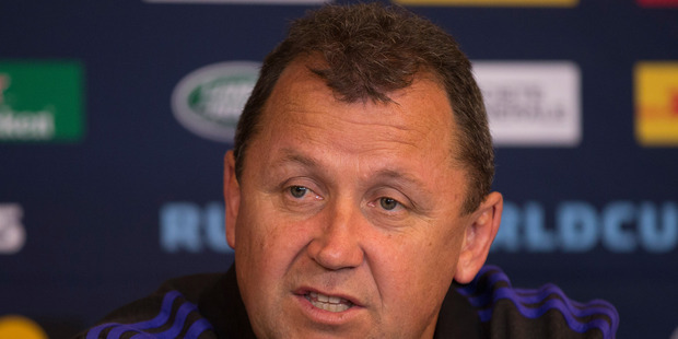 All Blacks assistant coach Ian Foster. Photo / Brett Phibbs
