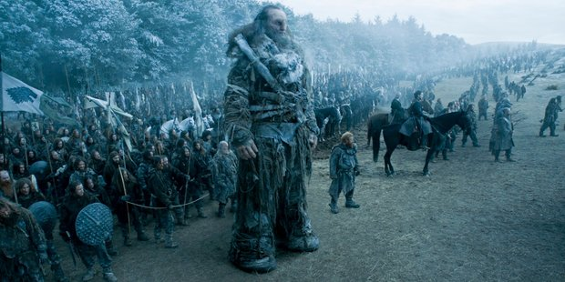 Ian Whyte as Wun Wun in Game of Thrones. Photo / HBO