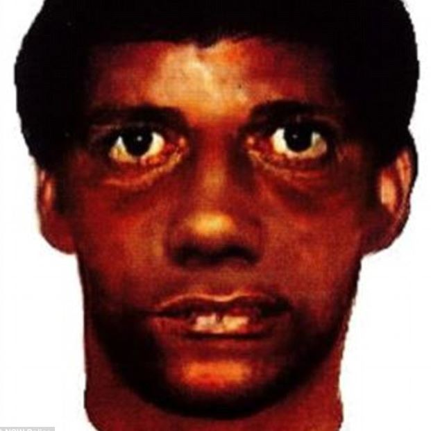 The second identikit of the rapist.
