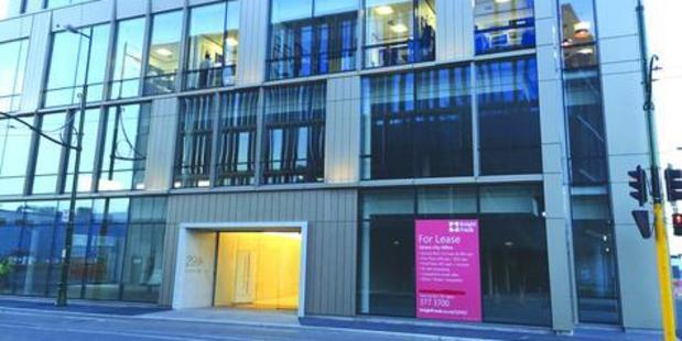 Landlords are willing to offer office space to the right tenants rent-free for a period, or contribute to their fit-out costs to bring them into the city. Photo / Christchurch Star