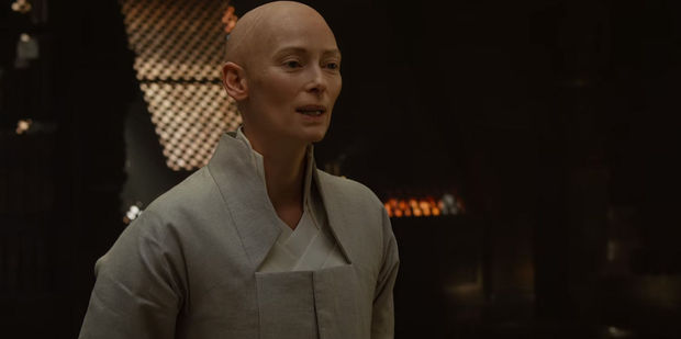 Tilda Swinton has received criticism for starring as the Tibetan monk 'Ancient One' in Marvel's Doctor Strange.