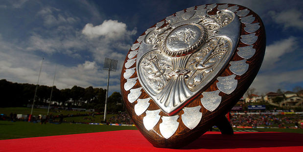The Ranfurly Shield. Photo / Getty