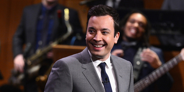 Jimmy Fallon, host of the The Tonight Show, is set to host the Golden Globe Awards for the first time. Photo / Getty Images