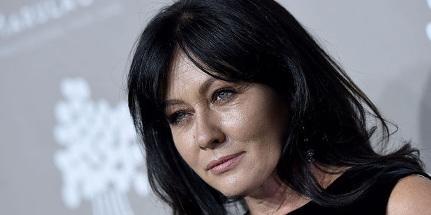 Shannen Doherty was diagnosed with breast cancer in February last year and she has revealed it has now been detected in her lymph nodes. Photo / Getty Images
