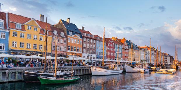 New Harbor, Copenhagen. Photo / Getty Images