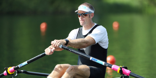 Loading Mahe Drysdale competes for New Zealand during the 2016 World Rowing Cup II earlier this year. Photo / Getty Images