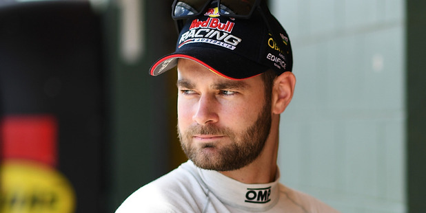 Shane Van Gisbergen looks on during qualifying at Hidden Valley. Photo / Getty Images