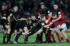 Chiefs pictured in a game with the Crusaders. Photo / Getty