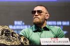 Conor McGregor. Photo / Getty Images