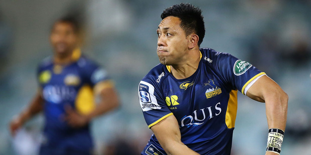 Christian Lealiifano of the Brumbies has been diagnosed with Leukaemia. Photo / Getty