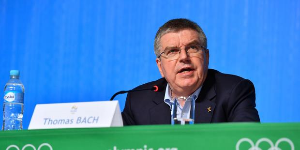 IOC President Thomas Bach. Photo / Getty Images