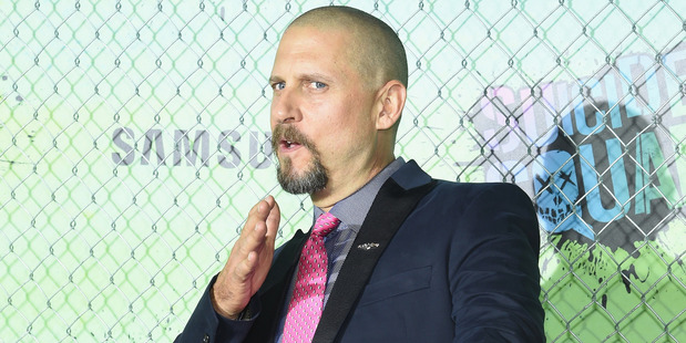 David Ayer's excitement got the best of him at the Suicide Squad premiere. Photo / Getty Images