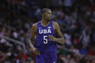Kevin Durant in action for the USA national basketball side in an Olympic warm-up match. Photo / Getty Images