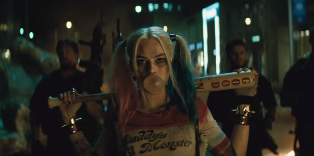 Loading Margot Robbie plays supervillain Harley Quinn in the DC Comics anti-hero blockbuster