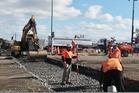 Railway crossing line reconstruction. Photo/Bent Jansen