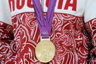 An Olympic Gold Medal. Photo / AP