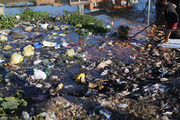 Polluted canals in Rio such as this one empty in Guanabara Bay. Photo / Getty Images.