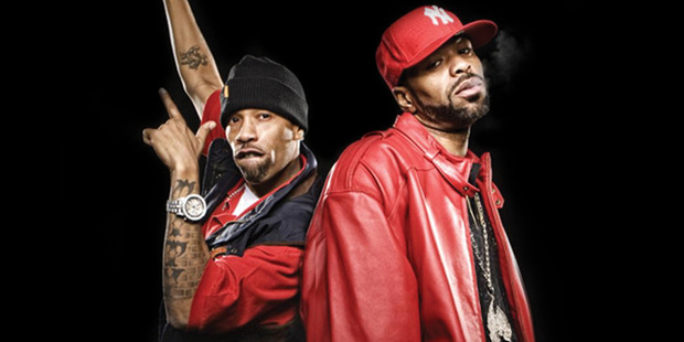 Method Man and Redman are coming to New Zealand in September. Photo / Supplied