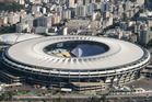 Aerial view of the Maracana Stadium, which will host the opening ceremony of Rio 2016 Olympic Games in Rio de Janeiro. Photo / Getty Images.