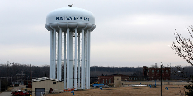 Concerns in places like Flint do bring bottled water to people's attention as a safe and sealed source of drinking water. Photo / Bloomberg