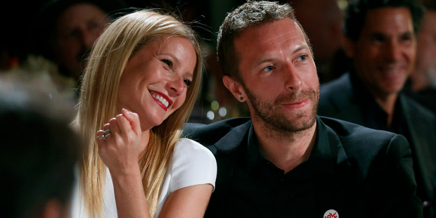 Gwyneth Paltrow divorce from Chris Martin was only finalised last week. Photo / AP
