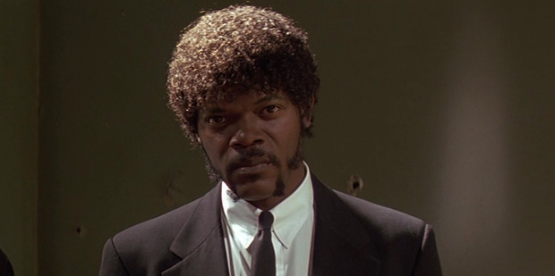 Samuel L. Jackson was meant to have an afro in Pulp Fiction.