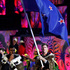 Peter Burling carries the flag of New Zealand during the opening ceremony for the 2016 Summer Olympics in Rio. Photo / AP