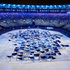 Performers start the opening ceremony at the 2016 Summer Olympics in Rio. Photo / AP