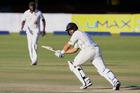 New Zealand's batsman Ross Taylor in Bulawayo. Photo / AFP