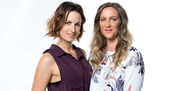 Niki and Tiff have their eyes firmly set on the prize. Photo / TV3