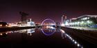 The Glasgow's Arc bridge over the river Clyde. Photo / iStock
