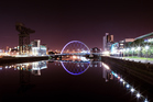 The Glasgow's Arc bridge over the river Clyde. Photo / iStock