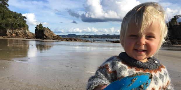 Many of the stunning beaches along the Tutukaka Coast are safe for kids. Photo / Kate Taylor