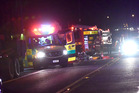 Five men were killed in a horror crash between a car and truck near the Bay of Plenty town last night - bringing the death toll to nine over recent days. Photo / George Novak