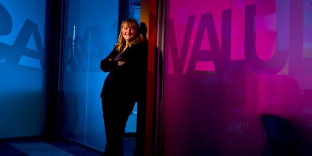 Cleghorn Gillespie Jensen property valuer Sharon Hall. PHOTO/STEPHEN PARKER
