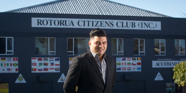 Loading NEW: Dylan Lee is the new manager for the Rotorua Citizen's Club. PHOTO/STEPHEN PARKER