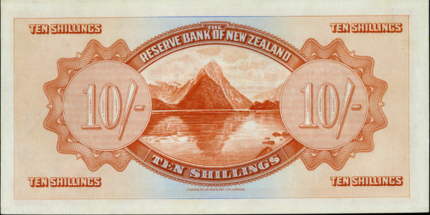 The reserve bank note. Photo / Supplied