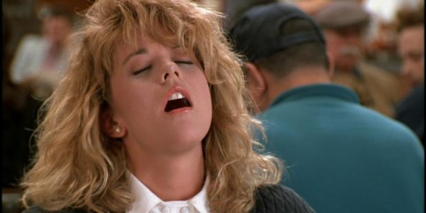 Meg Ryan in the film When Harry Met Sally.