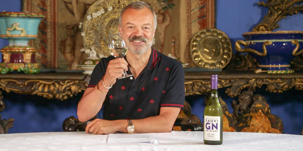 Graham Norton is a long-time fan of New Zealand wine. Photo / Supplied
