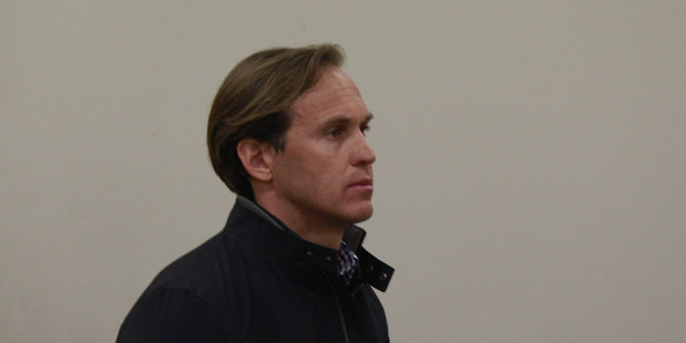 Simon Turnbull appears in Auckland District Court. Photo / Nick Reed