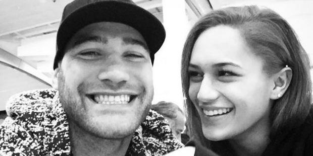 Bodene Thompson and Kaea Pearce. Photo / Instagram