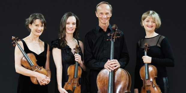 MUSIC: The New Zealand String Quartet will be performing in Rotorua as part of their Heartland Classics tour. PHOTO/BRUCE FOSTER