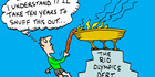 View: Cartoon: The Rio Olympics debt