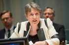 Former Prime Minister Helen Clark finished sixth out of the 12 candidates in the first ballot for the position of  The United Nations Secretary General. Photo / Supplied